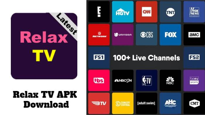Relax TV APK Latest Version 2021 Download Free For Android & More